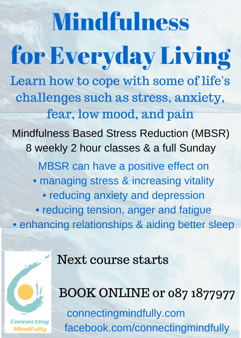 Mindfulness for Everyday Living. Stress Reduction